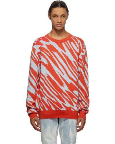 Sweter bawełniany z długimi rękawami Double Rainbouu