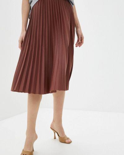Коричневая плиссированная юбка Sultanna Frantsuzova