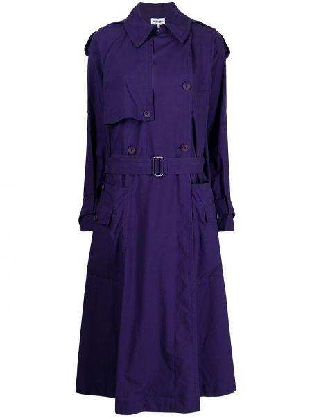 Фиолетовый плащ длинный Kenzo