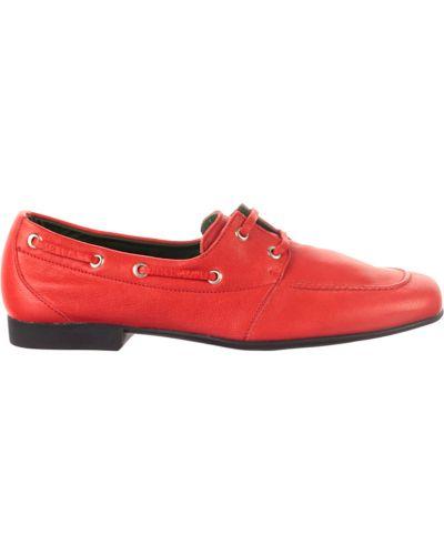 Кожаные туфли - красные Fratelli Rossetti