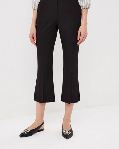 Черные брюки расклешенные Topshop
