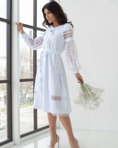 Вечернее платье в стиле бохо - белое Rozetka
