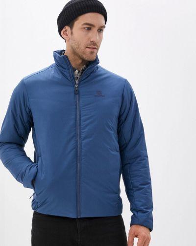 Утепленная синяя куртка Salomon