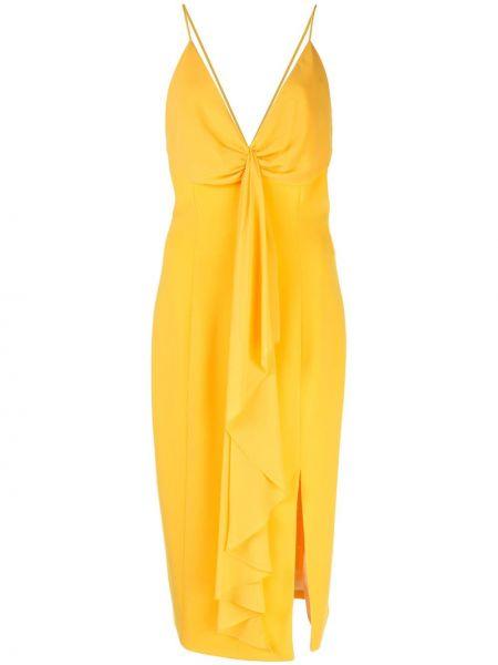 Приталенное тонкое платье на бретелях на молнии Jay Godfrey