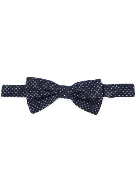 Krawat jedwab czarny Eredi Chiarini