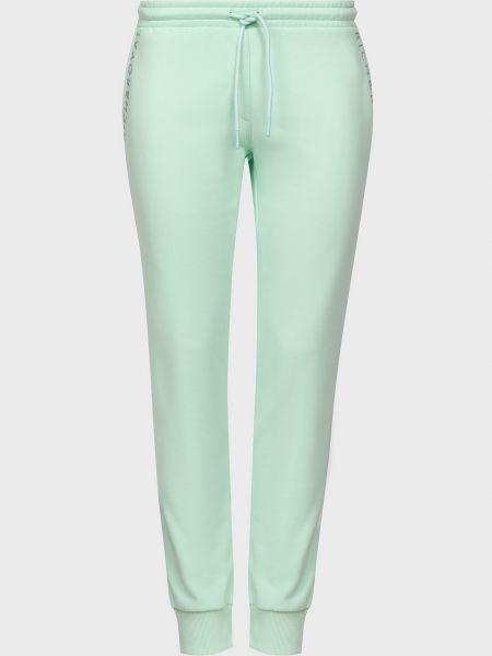 Хлопковые спортивные брюки - зеленые Rich & Royal