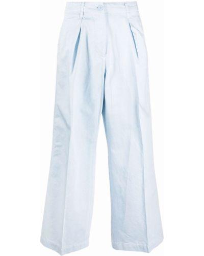 Синие хлопковые чиносы свободного кроя Hilfiger Collection