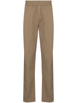 Хлопковые брюки Sunspel