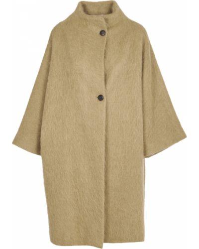 Brązowy płaszcz Pomandere