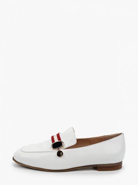 Белые кожаные туфли из натуральной кожи Vitacci