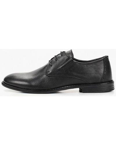 Туфли черные турецкие Alessio Nesca