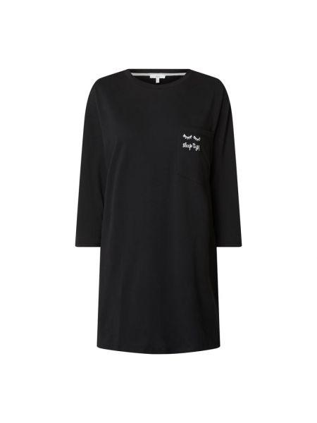 Czarna piżama bawełniana z printem Jake*s Casual