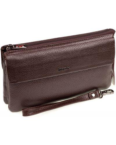 Кожаная сумка - коричневый Butun