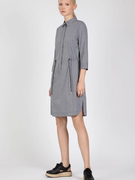 Платье платье-рубашка с отложным воротником Vassa&co