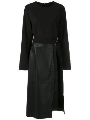 Платье макси длинное - черное Gloria Coelho