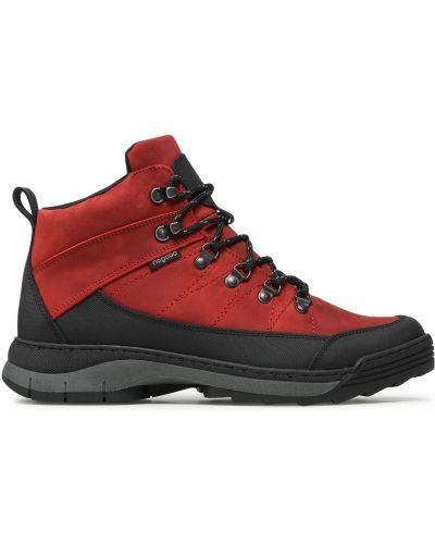 Ботинки - красные Nagaba