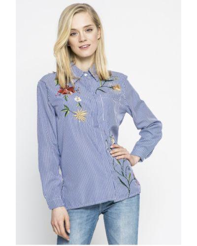 Голубая блузка в полоску Haily's