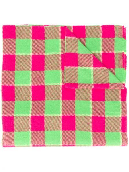 Wełniany różowy szalik przycięte Acne Studios