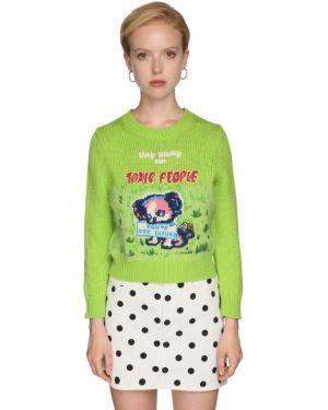 Свитер винтажный с воротником-стойкой Marc Jacobs