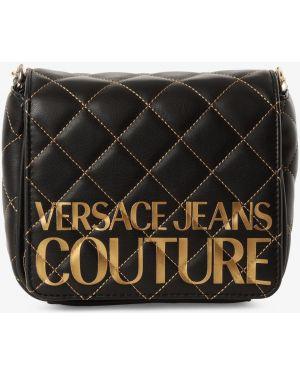 Mom jeans - czarne Versace Jeans