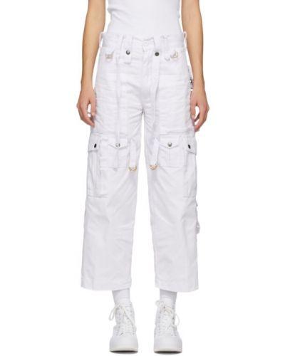 Укороченные брюки карго с накладными карманами Youths In Balaclava