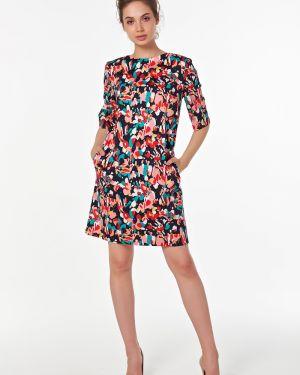 Летнее платье платье-сарафан с вырезом Victoria Filippova