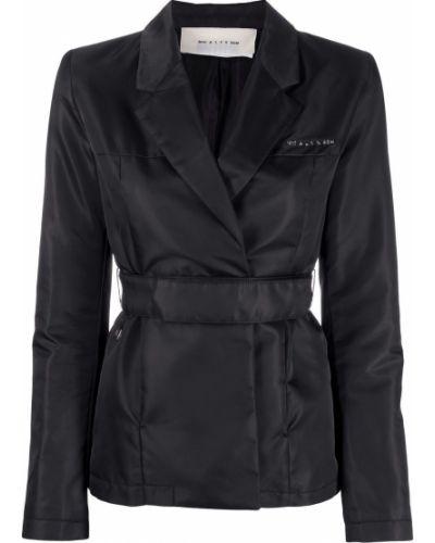 Черная куртка с поясом с запахом 1017 Alyx 9sm