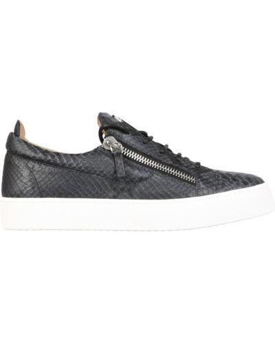 Sneakersy niskie - szare Giuseppe Zanotti
