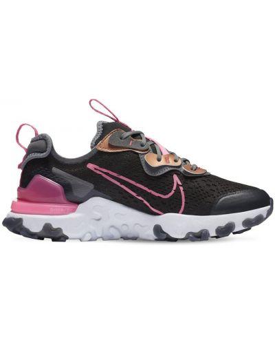 Koronkowa skórzany sneakersy zasznurować Nike