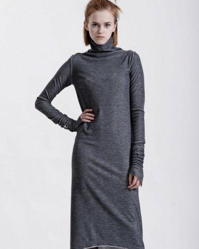 Платье осеннее серое W8less