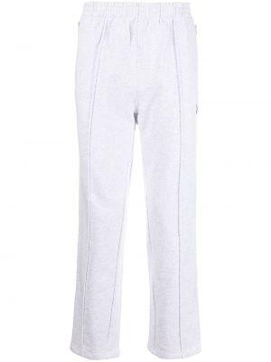 Fioletowe spodnie bawełniane Clot