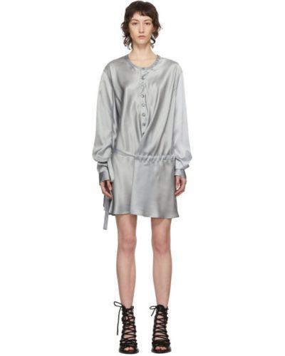 Платье макси на пуговицах с поясом Ann Demeulemeester