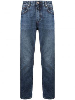 Bawełna bawełna niebieski klasyczny jeansy z kieszeniami Closed