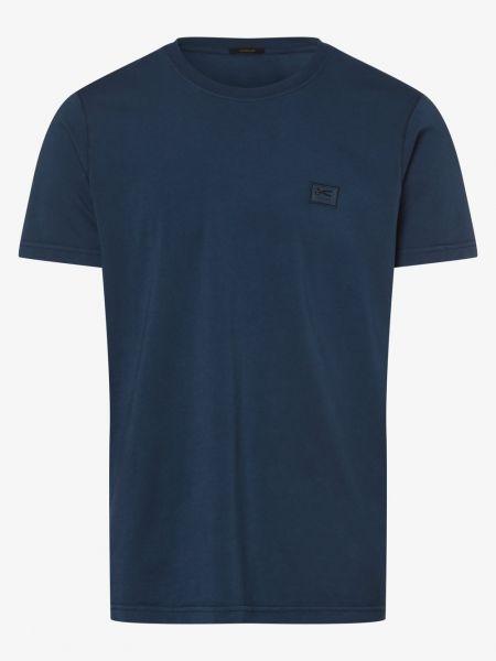 Niebieski t-shirt Denham