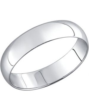Кольцо - серебряное Sokolov