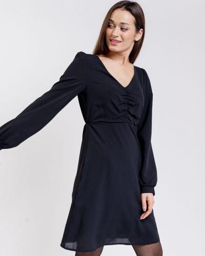 Шифоновое платье макси - черное Arjen