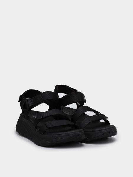 Черные сандалии Skechers