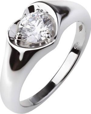Кольцо из серебра с фианитом Sandara
