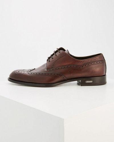 Коричневые туфли Baldinini