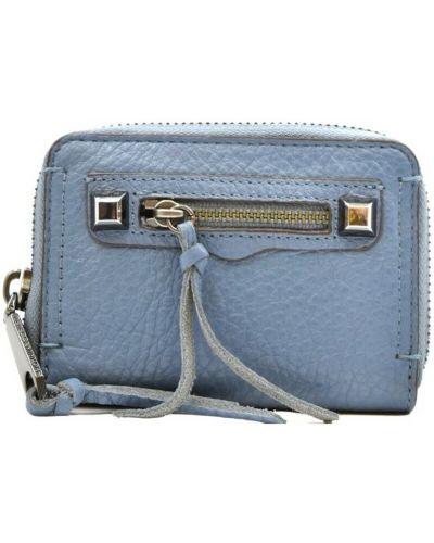 Niebieski portfel Rebecca Minkoff