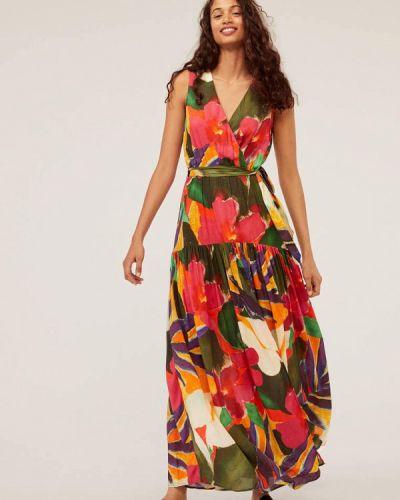 Платье с запахом осеннее Oysho