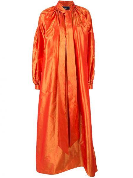 Свободное длинное пальто оверсайз с капюшоном Taller Marmo