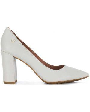Туфли-лодочки на каблуке белый Tommy Hilfiger
