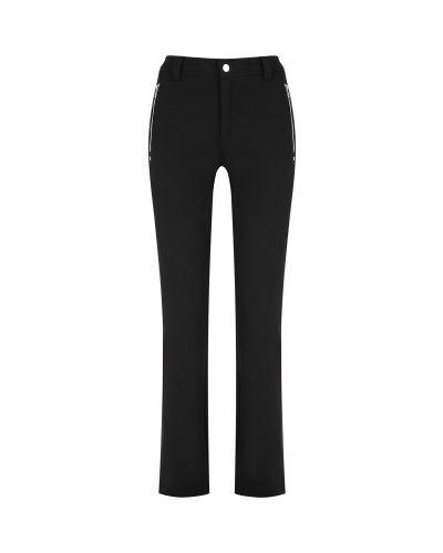Спортивные брюки из полиэстера - черные Luhta