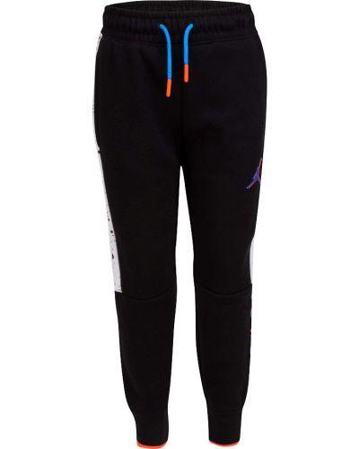 Повседневные флисовые черные брюки Jordan