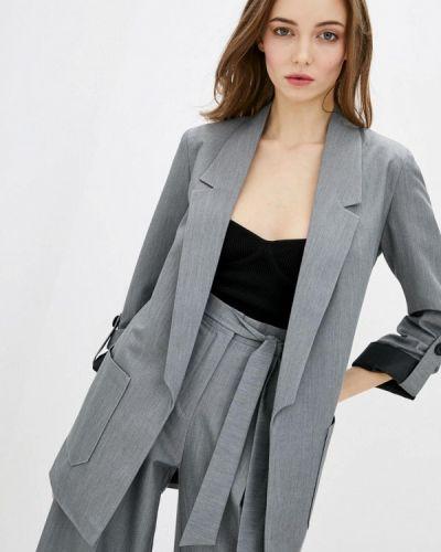 Серый пиджак Zubrytskaya