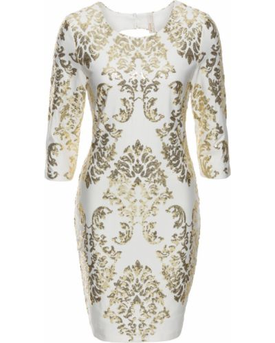 Вечернее платье с пайетками с узором Bonprix