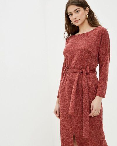 Повседневное красное платье Mana