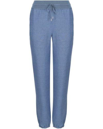 Голубые брюки водостойкие Loro Piana