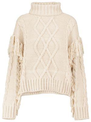 Шерстяной свитер - белый Goldbergh